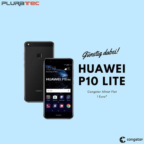 Huawei P10 Lite Dual Sim Mit Telekom Oder Congstar Vertrag Dual Sim Smartphone Handyvertrag Und Smartphone