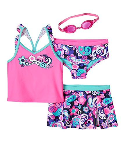 Meerjungfrau Kostüm Kinder Mädchen Bademode Badeanzug Strandkleidung Sommer Set