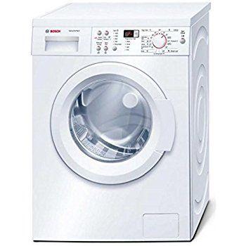 Bosch Wap28378gb Serie 6 Ecosilence 8kg 1400rpm Freestanding Washing Machine White Washing Machine Machine Bosch