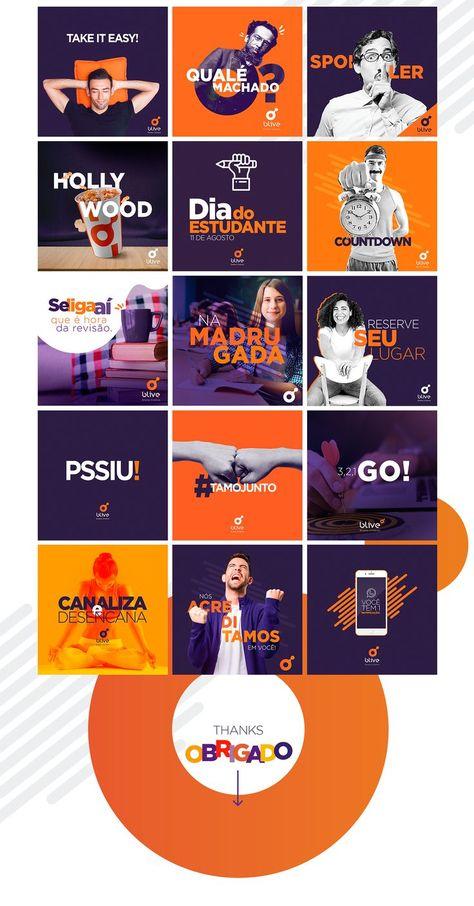 SOCIAL MEDIA | Blive on Behance | Social Media Branding 2019 |  Social Media Infographic | Bu...