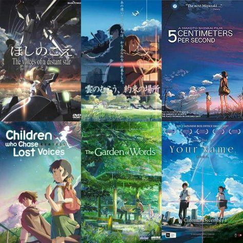 Netflix Adds 4 Makoto Shinkai Anime Movies » Anime India