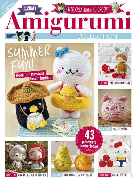 Simply Crochet Amigurumi Haken вязание рукоделие En вязание крючком