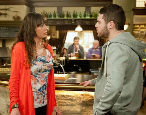 Chas Dingle (Lucy Pargeter) & Aaron Livesy (Danny