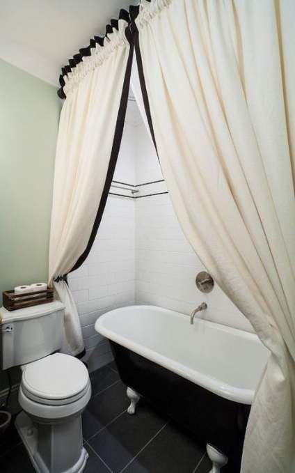 Trendy Bath Shower Curtain Ideas Tubs 44 Ideas Bath Clawfoot