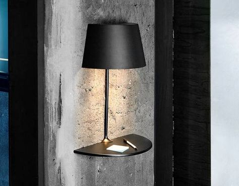 Illusion Half Wall Table Light | DROOLD