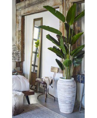Kenora Vase Tan Beige Large Glass Vase Glass Vase Decor Oversized Floor Vases