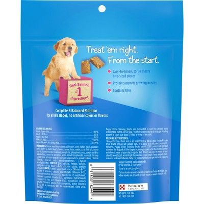 Nestle Purina Puppy Chow Training Treats Salmon 24oz Purina Puppy Chow Purina Puppy Puppy Chow