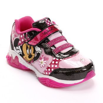 Minnie Mouse Light-Up Athletic Shoes - Toddler Girls  b71a28a2cb3