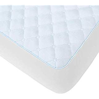 American Baby Company Waterproof Fitted Protective Mattress Pad Cover White