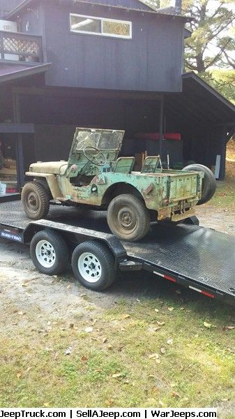 Jeeps For Sale And Jeep Parts For Sale 1946 Willys Cj 2a Early