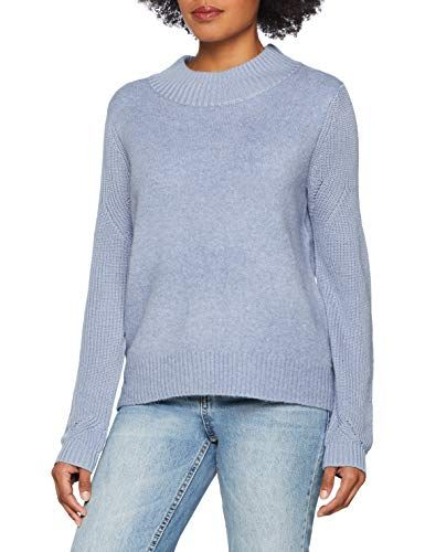 damen pullover opus damen pullover patti blau  comfort blue 6059  36 pullover  opus damen pullover patti blau  comfort