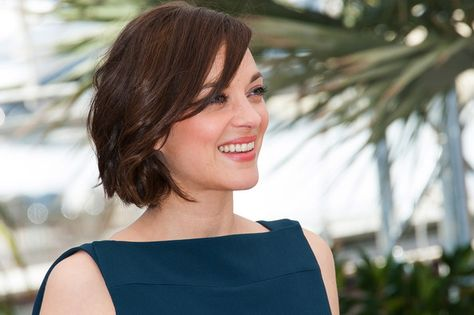 List Of Pinterest Marion Cotillard Bangs Short Wavy Images