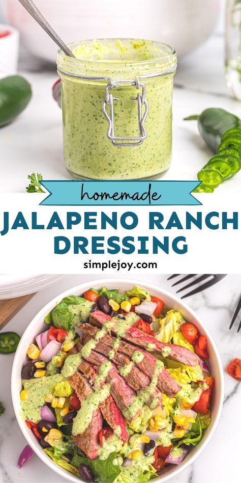 Jalapeño Ranch Dressing
