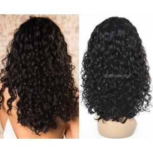 Pin By Veronica Stalling On Full Lace Wigs Curly Bob Deep Curly