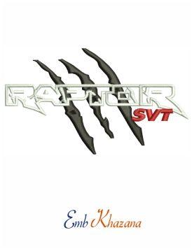 Ford Raptor Svg Logo Embroidery Design Embroidery Logo