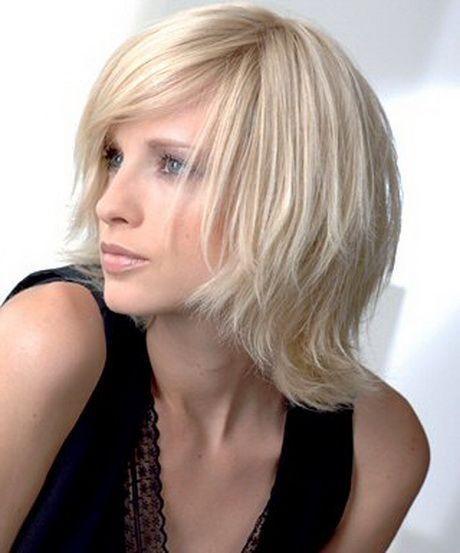 Moderne Frisuren Frauen Mittellang Langhaarfrisuren Kurzhaarfrisuren Frisuren Fur Glatte Dunne Haare