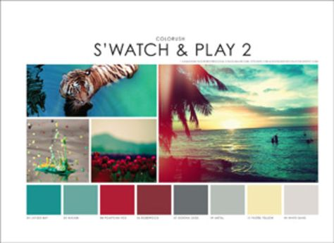 Colorush S/S2 2015 - Active / Sportwear - Styling forecasts- mode ...