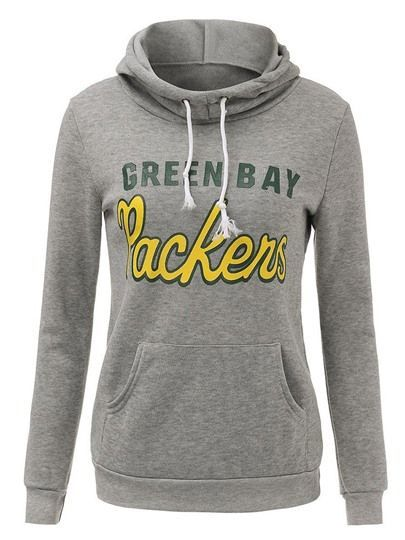 GB PACKERS Girls Athletic Pullover Sweatshirt