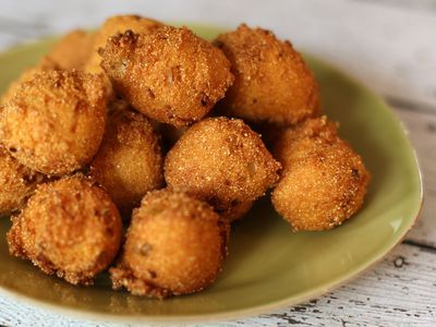 Buttery Southern Fried Corn Recipe Hush Puppies Recipe Vegan Hush Puppies Recipe Catfish Recipes
