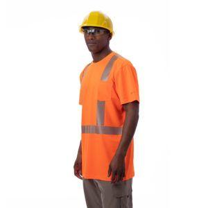 Men S Safety Pocket T Shirt Ansi Class 2 Mens Activewear T