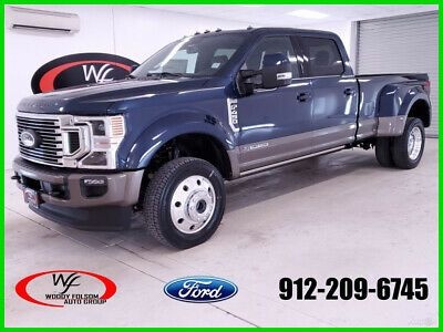 Ebay Advertisement 2020 Ford F 450 King Ranch 2020 King Ranch New Turbo 6 7l V8 32v Automatic 4wd Pickup Truck Moonroof In 2020 King Ranch Pickup Trucks Ford