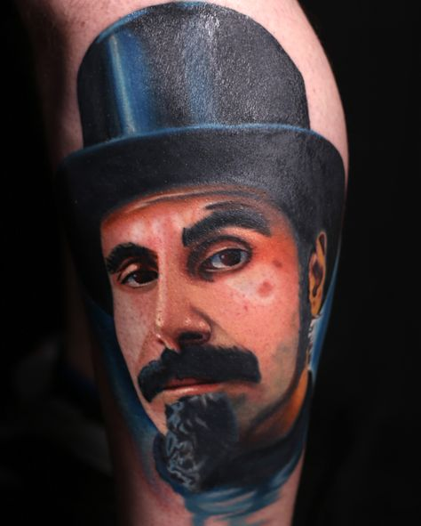 Serj Tankian Tattoo Austin Evans transformationgallery.com