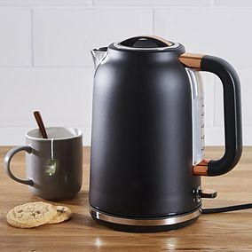Black Travel Kettle Tea Kettles for