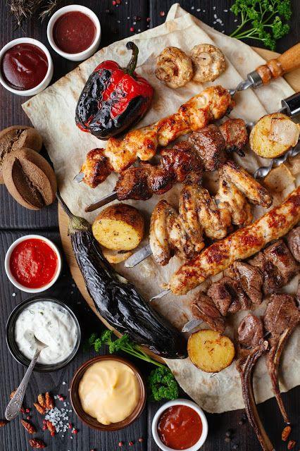 اكل سهل وسريع طريقة عمل المشاوى بأنواعها المتعدده Bbq Recipes Side Dish Recipes Grilling Recipes