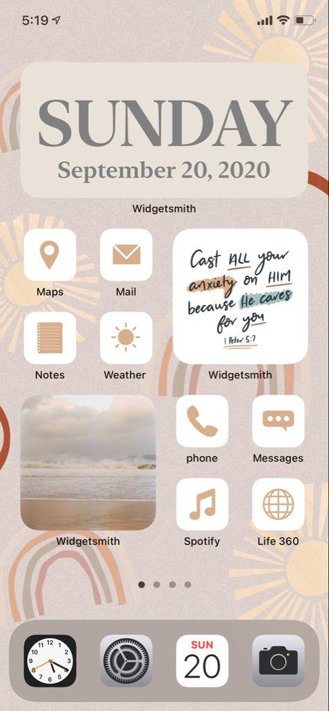 iOS14 Home Screen