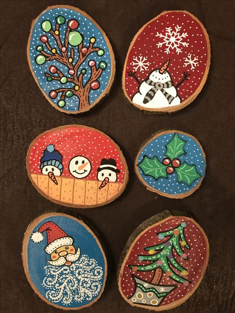 Wood Slices 🎄♥️