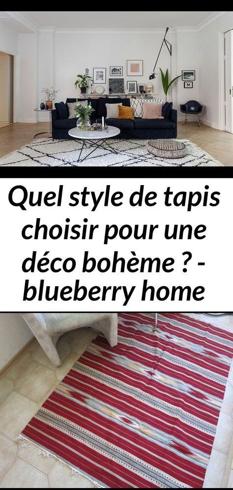 Quel style de tapis choisir pour une déco bohème ? - blueberry home