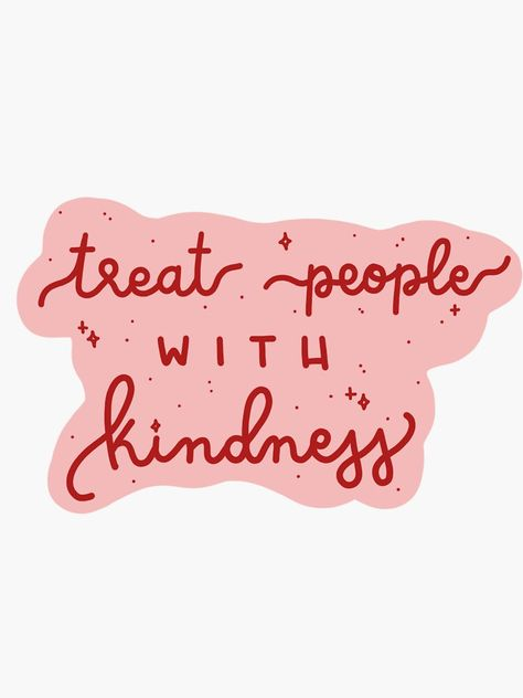Purple Aesthetic Discover treat people with kindness Sticker by gracefulrainbow Summer Quotes Instagram, Desenho Harry Styles, Happy Words, Treat People With Kindness, Purple Aesthetic, Aesthetic Stickers, Photo Wall Collage, Cute Quotes, Pink Quotes