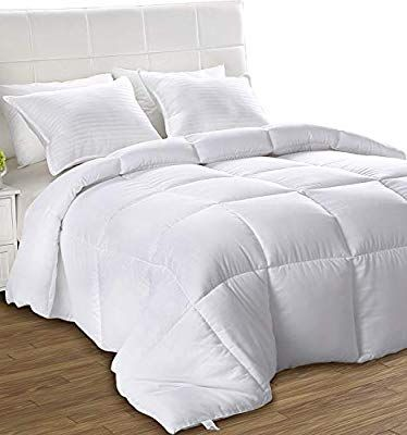 Amazon Com Utopia Bedding All Season Comforter Ultra Soft Down