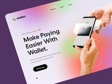Wallet – Hero Header