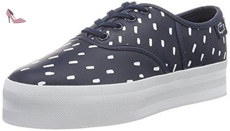 a556907f61 Lacoste L!VE - Sneaker - Femme - Bleu (nvy/wht) - Taille 37 - Chaussures  lacoste (*Partner-Link)