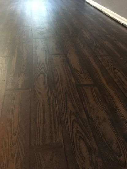 How To Transform Your Old Carpet And Linoleum Floor To Faux Wood Linoleum Flooring Faux Wood Flooring Fake Wood Flooring