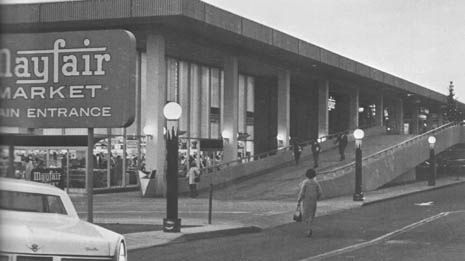 Mayfair Century City 1960s - this is now a Gelson's