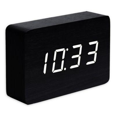 Gingko Brick Click Alarm Clock Alarm Clock Clock Alarm Systems For Home