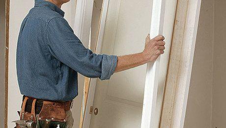 Hang A Split Jamb Door Doors Building A House Door Casing