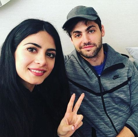 Emeraude and Matt are ready for the Livechat! 4/6/2016