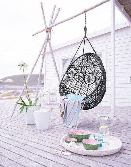 Fauteuil Suspendu Ikea Canape Palettes Deco Terrasse Balancelle De Jardin Deco Exterieure