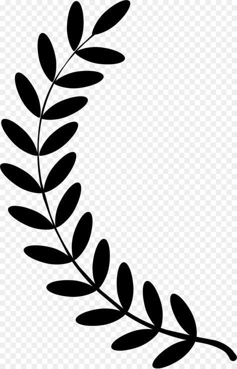Half Wreath Svg Free : wreath, Black, White, Flower, Unlimited, Download., Cleanpng.com., Wreath, Cricut, Crafts,