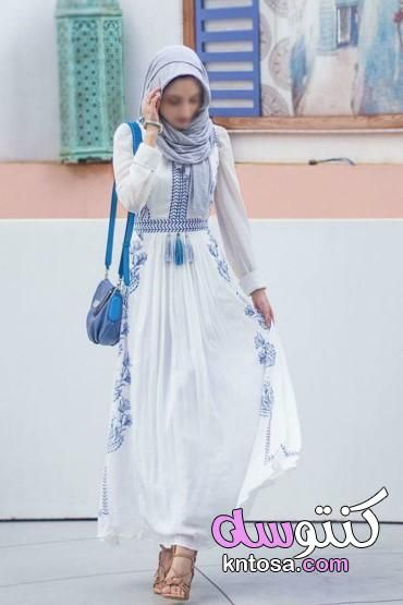 موديلات فساتين للمحجبات للخروج Muslim Outfits Muslim Outfits Summer Muslim Fashion