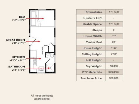 List of 10x20 tiny house floor plans bath images and 10x20