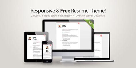 Free Resume Theme