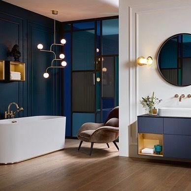 Villeroy Boch Collection Finion En 2020 Idee Salle De Bain Salle De Bain Design Deco Salle De Bain