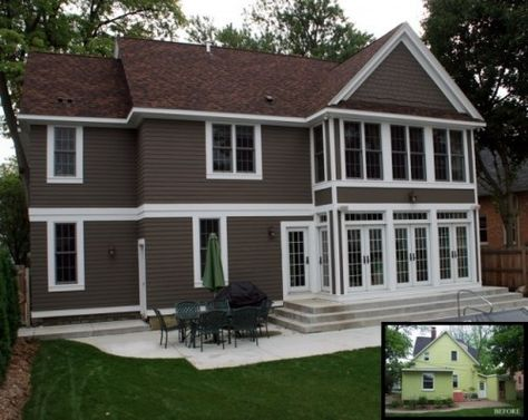 Lowes exterior color on pinterest exterior paint colors for 3 color exterior paint schemes