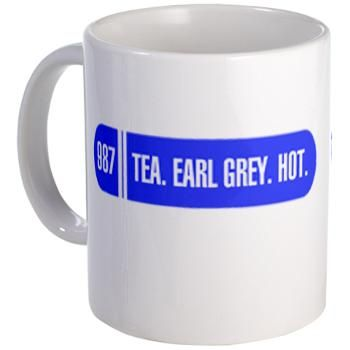 Captain Picard's Tea Mug | Gifts For A Geek | Geek T-Shirts
