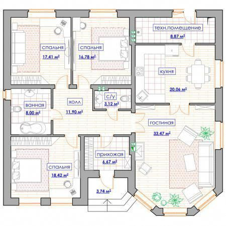 Pin By Ikamaki On Plan Maison House Construction Plan My House Plans Small House Design