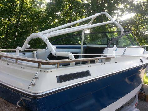 Best Boating Images On Pinterest Boat Interior Boat - Bayliner boat decalsfour winns sun downer boat back to back seatbase stand red
